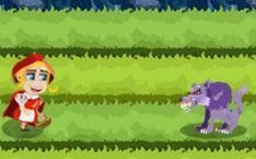 онлайн игра Игра Пробежка Красной Шапочки