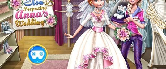 Игра Одевалка: Свадьба Анны
