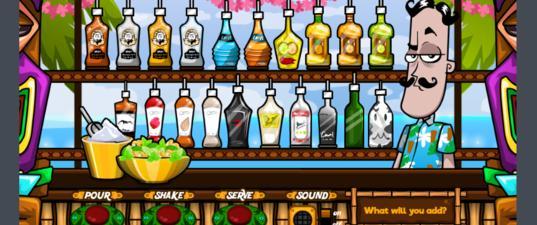 Игра Бармен: Смешай напитки правильно