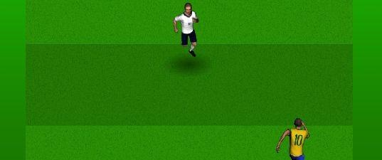 Игра Бегущий футболист