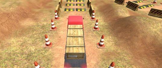 онлайн игра Игра Парковка грузовика