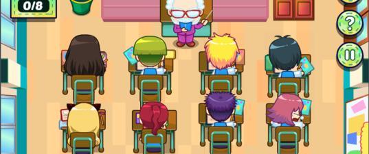 Игра Лили в Школе