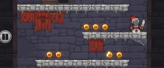 Игры Доблестный Рыцар: Спасение Принцессы