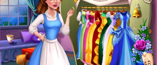 Игра Волшебный гардероб Белль