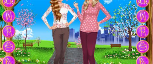 Игра Сестры Весенний День