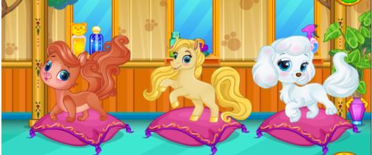 Игра Салон красоты для принцесс