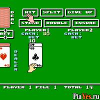 онлайн игра Blackjack / Блекджек