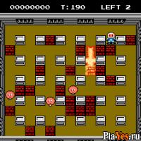 онлайн игра Bomberman II / Бомбермен 2