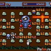 онлайн игра Mega Bomberman / Мега Бомбермен
