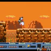 онлайн игра Quack Shot Starring Donald Duck / Выстрел Шарлатана - в главной роли Дональд Дак