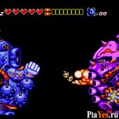 онлайн игра Sparkster - Rocket knight Adventures 2 / Спаркстер - Приключение Рыцаря Ракеты 2