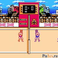онлайн игра Super Spike V'Ball / Супер волейбол