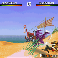 онлайн игра Brutal - Paws of Fury