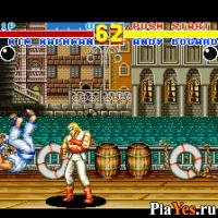 онлайн игра Fatal Fury 2