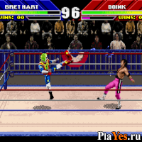 онлайн игра WWF WrestleMania - The Arcade Game
