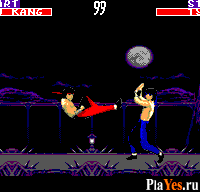 онлайн игра Mortal Kombat 2