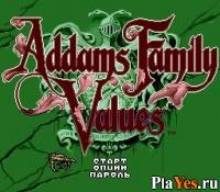 онлайн игра Addams Family Values