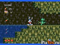 онлайн игра Tiny Toon Adventures - Buster's Hidden Treasure / Приключения Тини Туна - Скрытая сокровищница