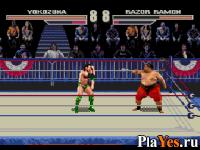 онлайн игра WWF Wrestlemania Arcade / Мировая Федерация Рестлинга - Аркада