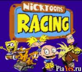 онлайн игра Nicktoons Racing