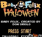 онлайн игра Baby Felix - Halloween