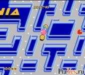 онлайн игра Pac-Mania / Пакмания
