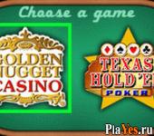 онлайн игра Golden Nugget Casino + Texas Hold'em Poker