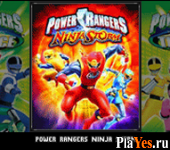 онлайн игра Power Rangers - Ninja Storm + Power Rangers - Time Force