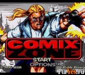 онлайн игра Comix Zone / Зона комиксов