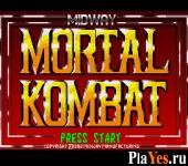 онлайн игра Mortal Kombat / Мортал Комбат 1