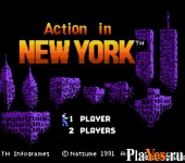 Action in New York / В Нью-Йорке