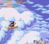 онлайн игра World of Illusion Starring Mickey Mouse & Donald Duck / Мир илюзий звезд Микки Мауса и Дональда Дака