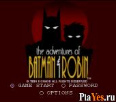 Adventures of Batman - Robin The