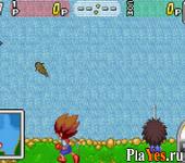 онлайн игра Battle X Battle - Kyodai Gyo Densetsu