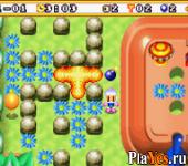 онлайн игра Bomberman Max 2 - Blue Advance