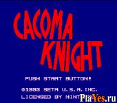 Cacoma Knight in Bizyland