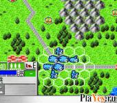 онлайн игра Daisenryaku for Game Boy Advance
