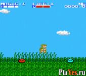онлайн игра Famicom Mini Vol. 25 - The Legend of Zelda 2 - Link no Bouken