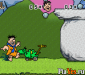 онлайн игра Flintstones, The - Big Trouble in Bedrock