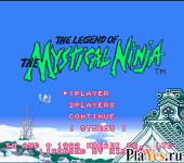 Legend of The Mystical Ninja The