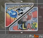 онлайн игра Marble Madness, Klax