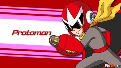 онлайн игра Protoman 5 (Megaman V Hack)