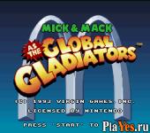 Mick - Mack as the Global Gladiators