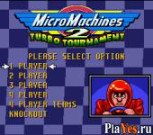 онлайн игра Micro Machines 2 - Turbo Tournament