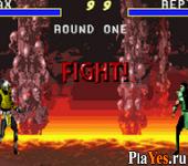 онлайн игра Mortal Kombat Advance
