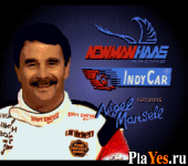 Newman Hass Indy Car Featuring Nigel Mansell