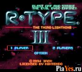 онлайн игра R Type III - The Third Lightning