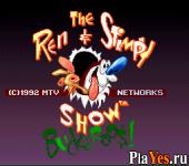 онлайн игра Ren - Stimpy Show The - Buckeroos!
