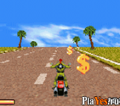 онлайн игра Road Rash - Jailbreak