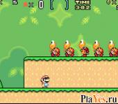 онлайн игра Super Mario Advance 2 - Super Mario World + Mario Brothers